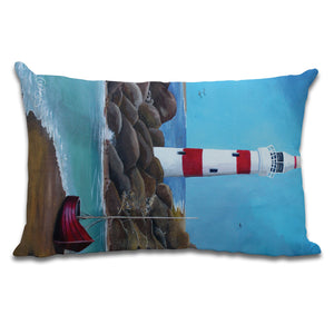 A Safe Place - Cushion by Cheryl Wigley