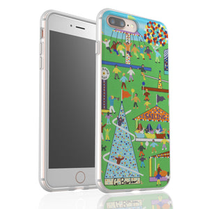 Fun Fair By Gordon Barker - Flexi Phone Case