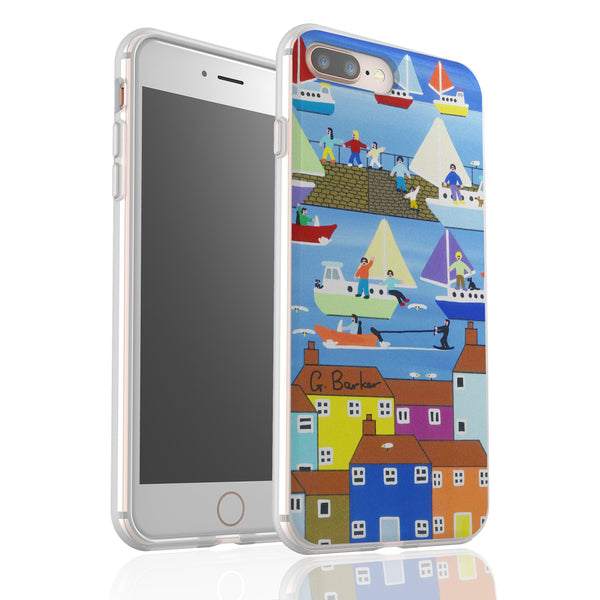 Summer Harbour By Gordon Barker - Flexi Phone Case