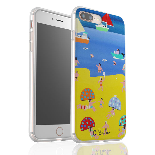 At The Seaside By Gordon Barker - Flexi Phone Case
