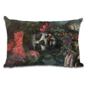 Day of the Dead Cushion Cover by Gary McNamara