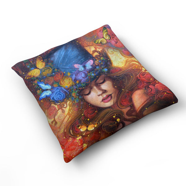 Fantasy - Cushion by Gary McNamara