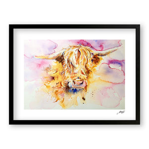 Highland - Art Print by Jo Allsopp