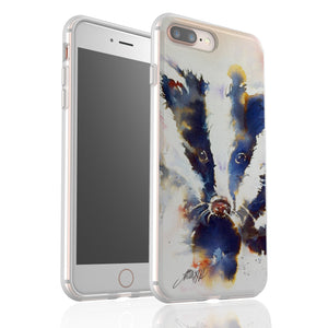 Inky Badgie By Jo Allsopp - Flexi Phone Case