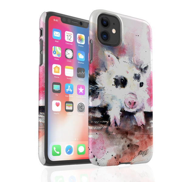 Inky Pinky Pig By Jo Allsopp - Snap Phone Case