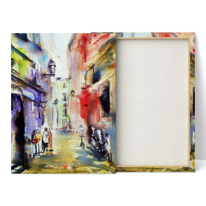 Old Town Nice 2 - Canvas Print by Jo Allsopp