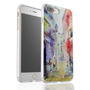 Old Town Nice 2 By Jo Allsopp - Flexi Phone Case