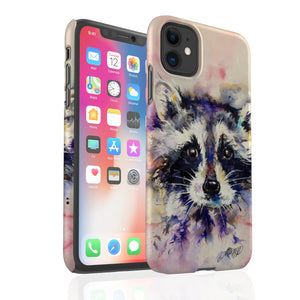 Raccoon By Jo Allsopp - Snap Phone Case