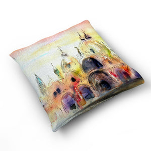St Marks - Cushion by Jo Allsopp