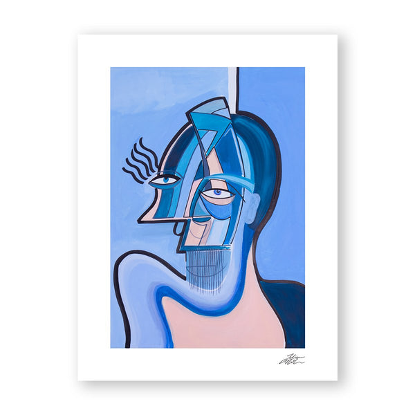 The Cold Shoulder - Art Print by Julian McLaughlan