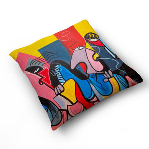 Dreaming Of New York - Cushion by Julian McLaughlan