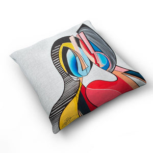 The Bond - Cushion by Julian McLaughlan