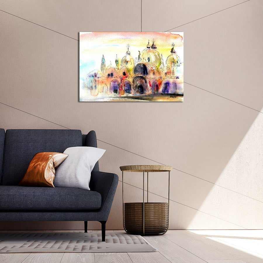 St Marks - Canvas Print by Jo Allsopp