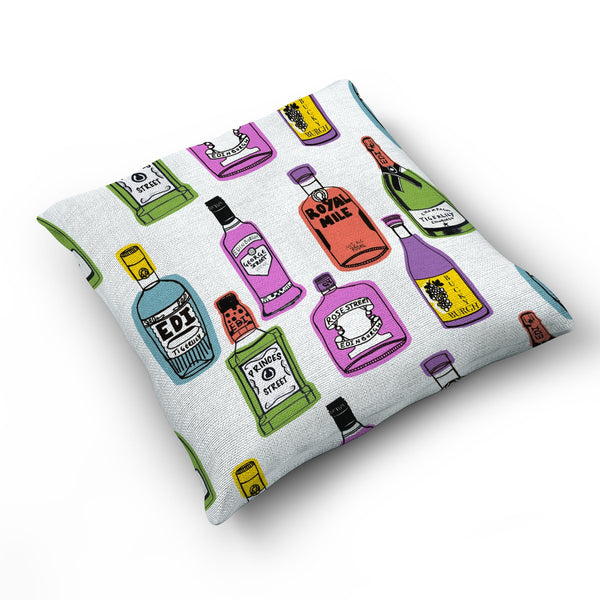 What's Ya Tipple? - Cushion by Zoe Neill