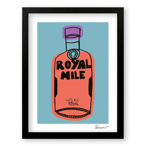 Royal Mile - Art Print by Zoe Neill