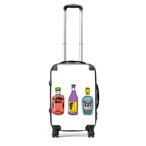 Trio Of Tipples - Suitcase by Zoe Neill