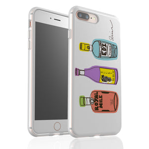Trio Of Tipples By Zoe Neill - Flexi Phone Case
