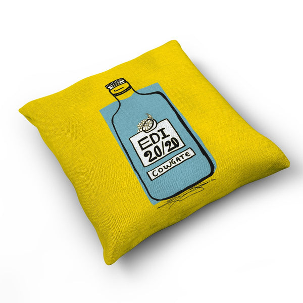 Cowgate - Cushion by Zoe Neill