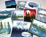 Mountain Air Scenic cards