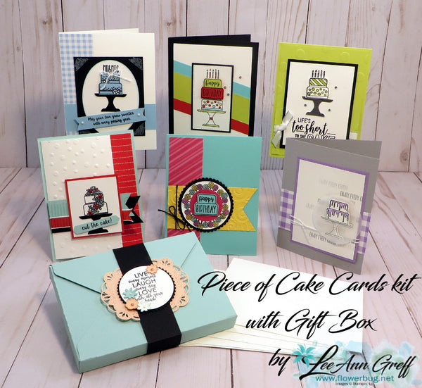 Piece of Cake Cards & Cards Box