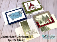 2020 Christmas Cards Tutorial #1