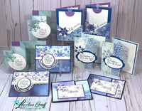 Snowflake Splendor Fun-Fold PDF Tutorial