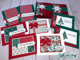 'Tis the Season Christmas Cards PDF Tutorial