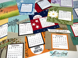 2021 Coaster Calendar PDF Tutorial