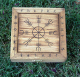 Hand Crafted Spell Boxes Altar Boxes and Tarot Boxes