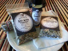 Herbal Incense Sets - Loose Wiccan Herbal Incense Sets