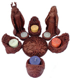 Pagan Candle Holders