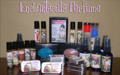 Enchanticals Gothic Artisan Perfumes Oils Bath Body Collection