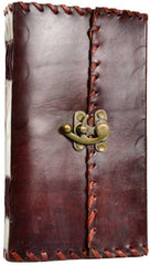 1842 Poetry leather blank book- 5.5 x 9 inch
