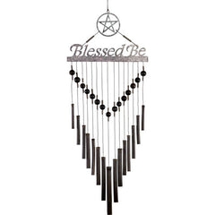 Blessed Be Wind Chime-Bamboo