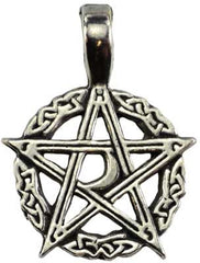 Mystic's Waxing Moon Pentacle Amulet