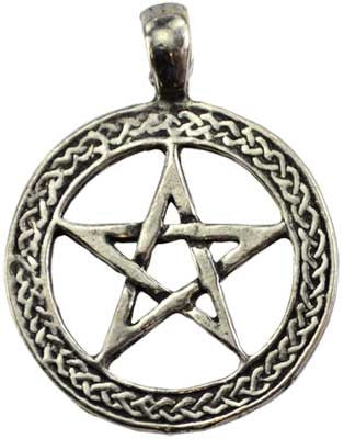 Nature's Power Pentacle Amulet