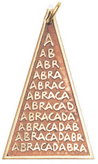 Abracadabra Amulet for Manifestation, Banishing & Luck