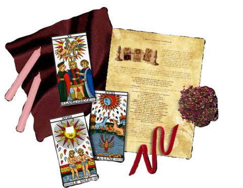 Attracting Love or Lover Tarot Spellcraft Kit