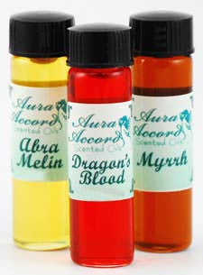 Aura Accord Abra Melin 2 Dram Ritual Oil