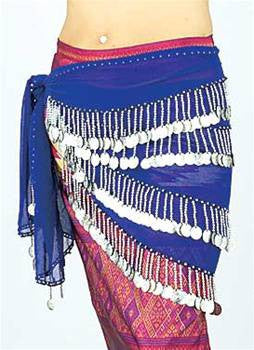 Gypsy Hip Scarves-Belly Dance Hip Scarves