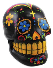 Black Day of the Dead Skull Bank