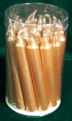 Gold Chime Candle 20 pack