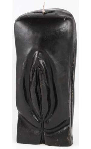 Female Genital Candle Black