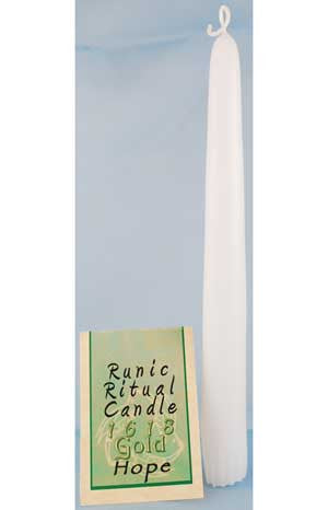 Hope Runic Ritual Candle