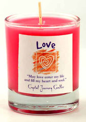 Love Soy Votive candle