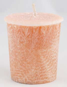 Sandalwood Palm Oil Votive Candle