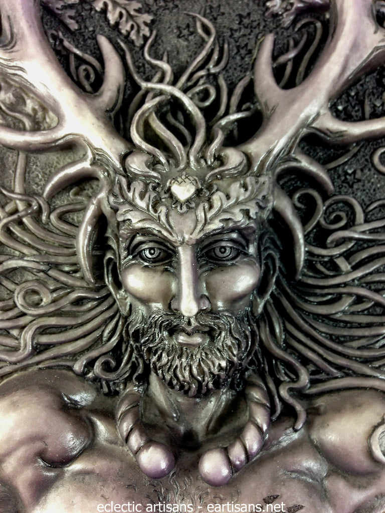 cernunnos plaque-stone finish