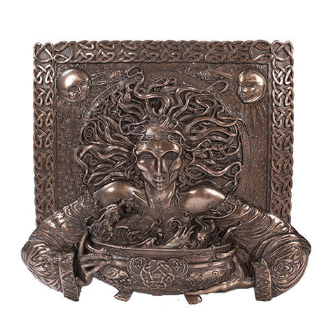 Cerridwen Plaque - Bronze Finish