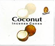 Coconut Kamini Cone Incense