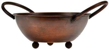 Copper Ritual Bowl and Incense Vessel